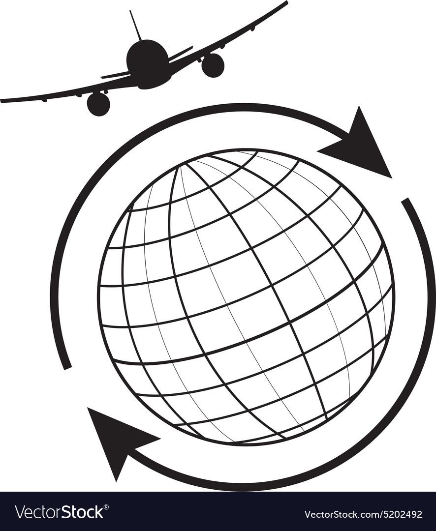Globe aeroplane