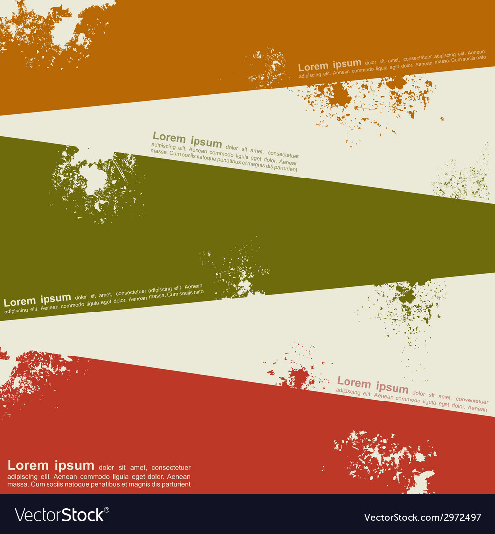 Abstract grunge background template design