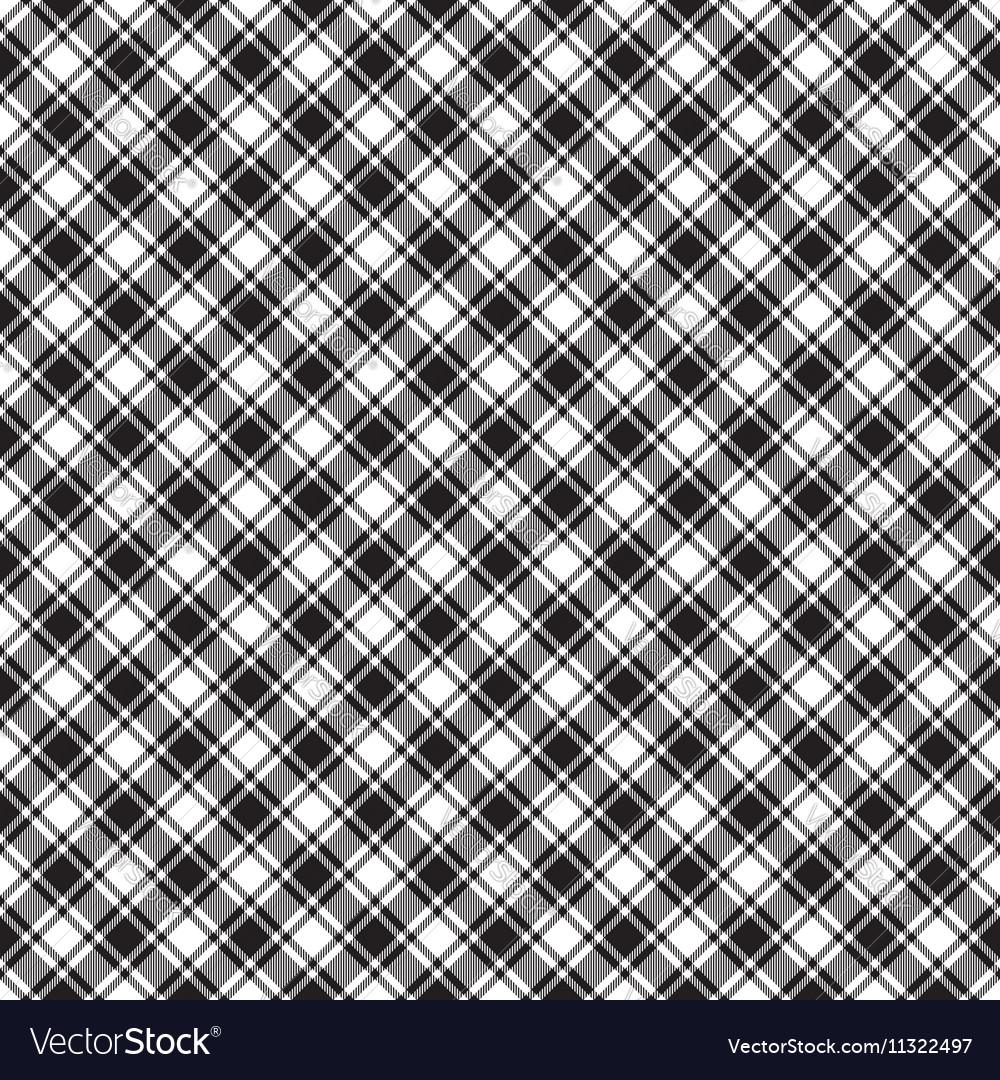 Black White Diagonal Check Fabric Texture Seamless