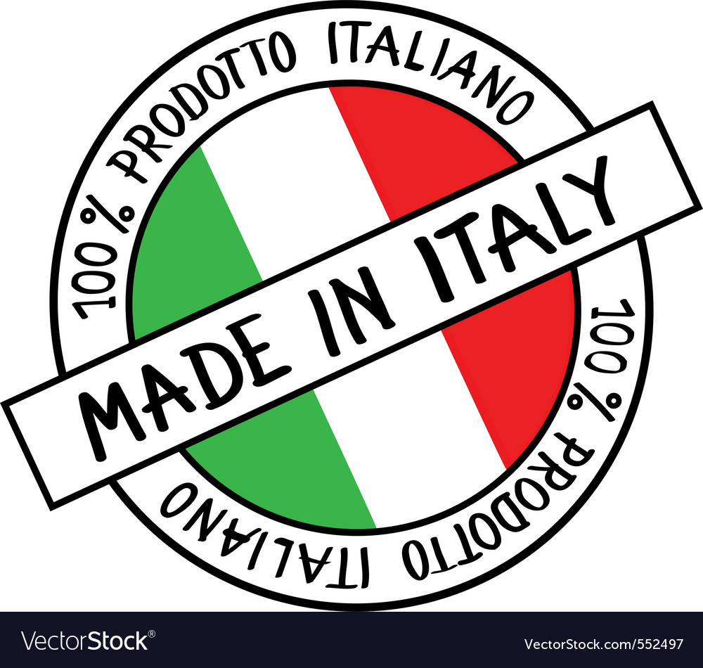 100 Made In Italy.Made In Italy Royalty Free Vector Image Vectorstock