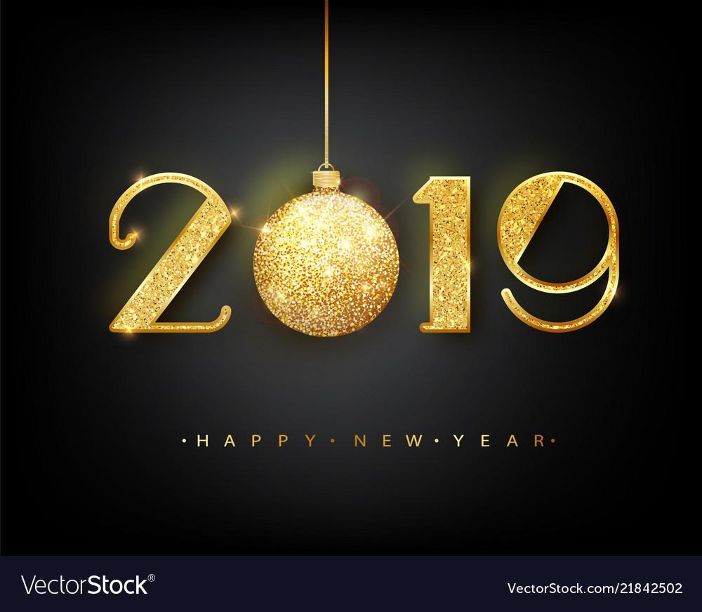 2019 happy new year 2019 happy new year Royalty Free Vector