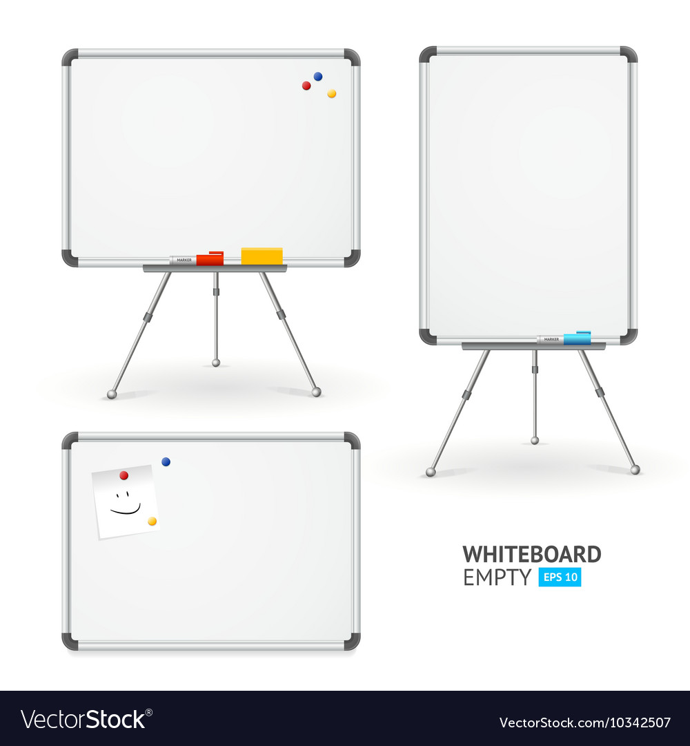Whiteboard Set Different View