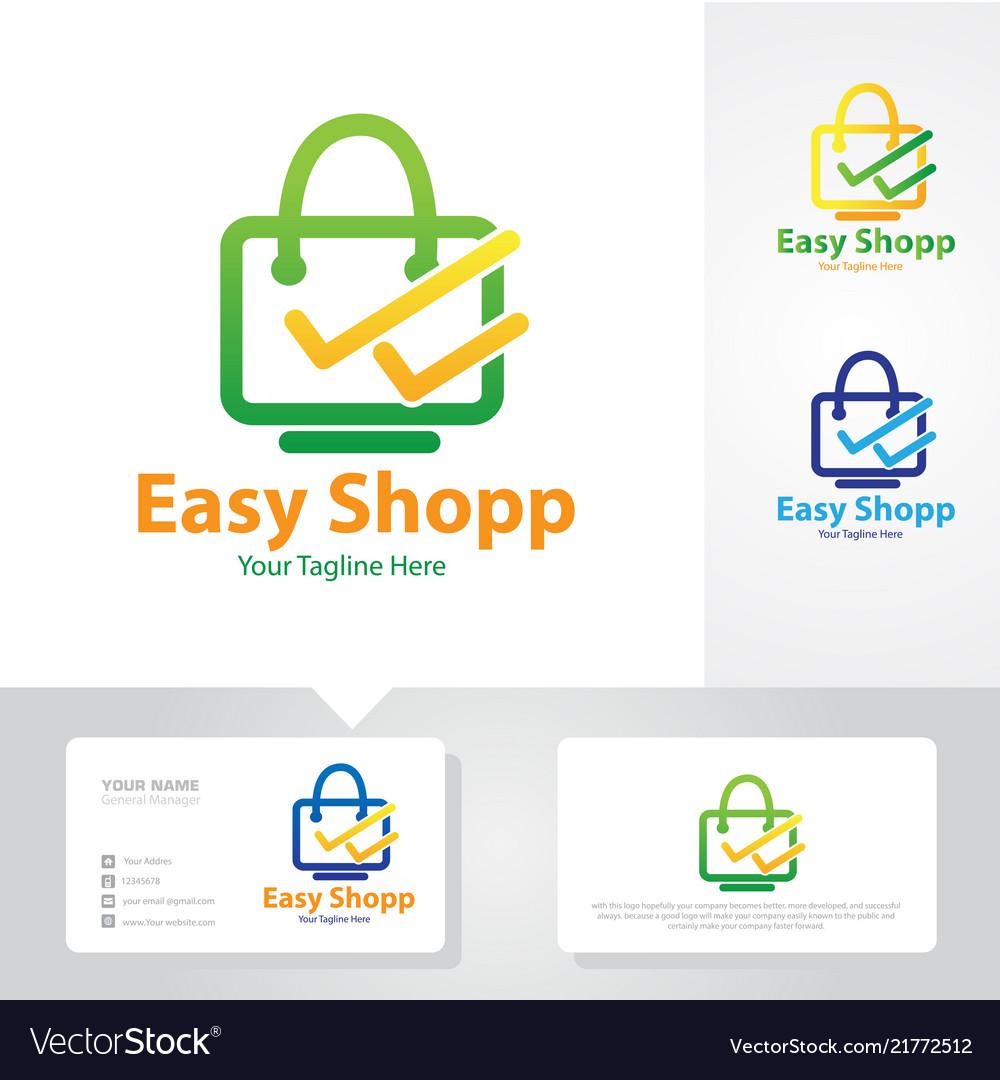 Easy shop logo design