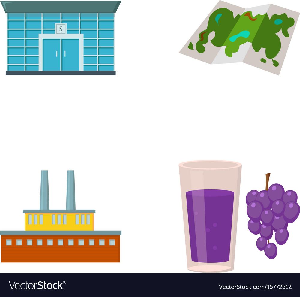 Finance oil refinery and other web icon in