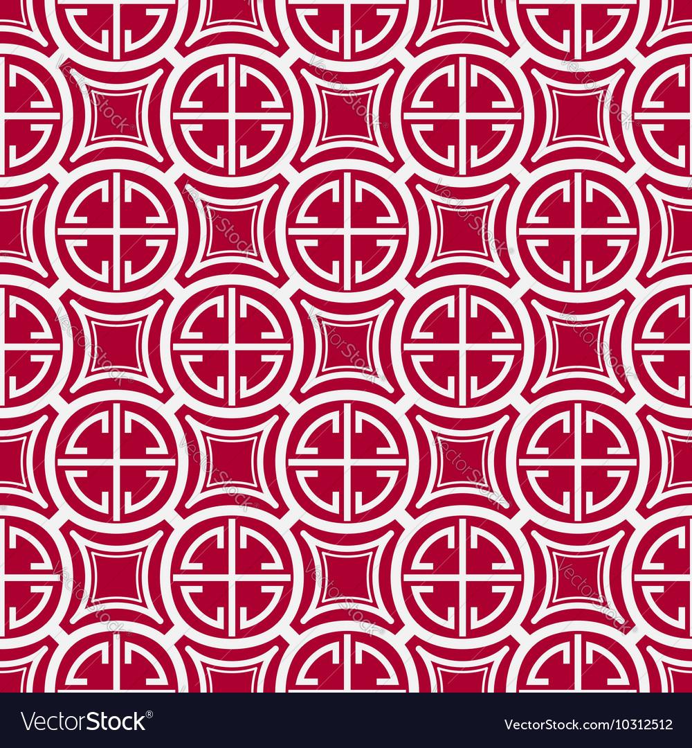 Seamless geometric pattern Imitation of Chinese