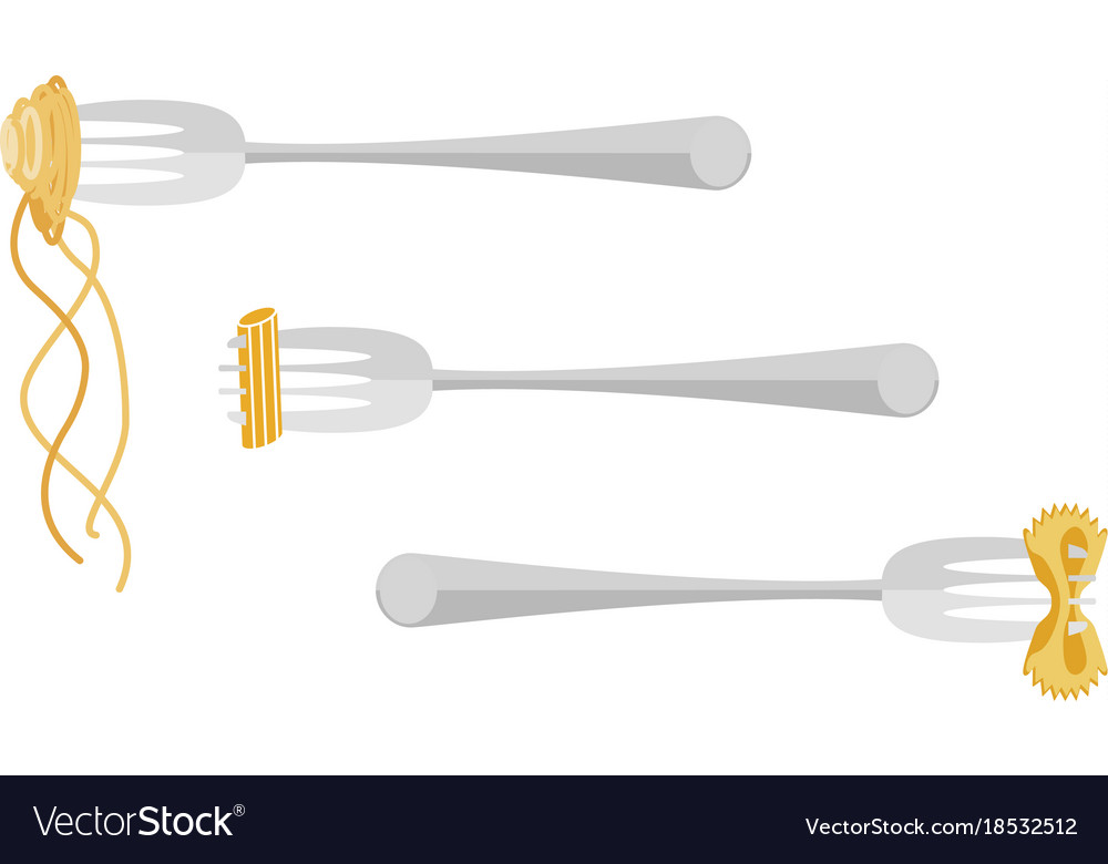 Template of italian spaghetti