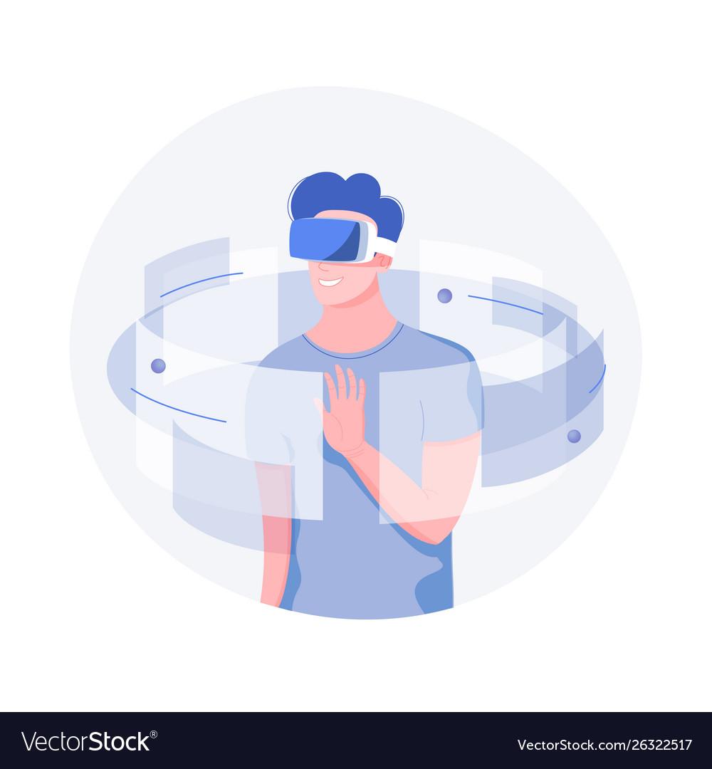 Future technology concept