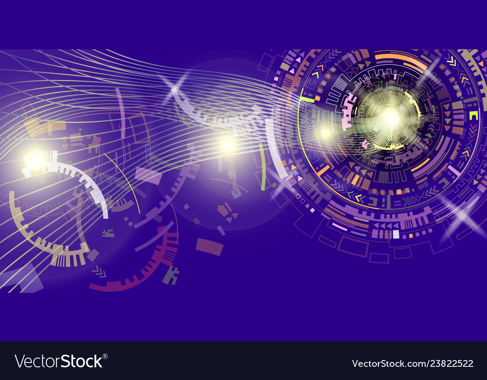 Abstract technology background global business