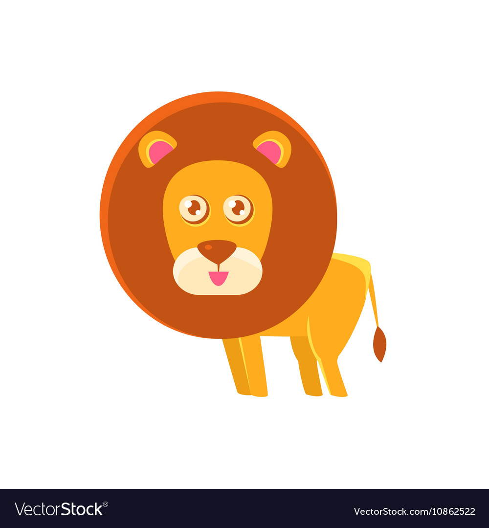 Lion Toy Exotic Animal Drawing