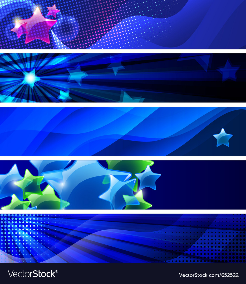 Stars banners