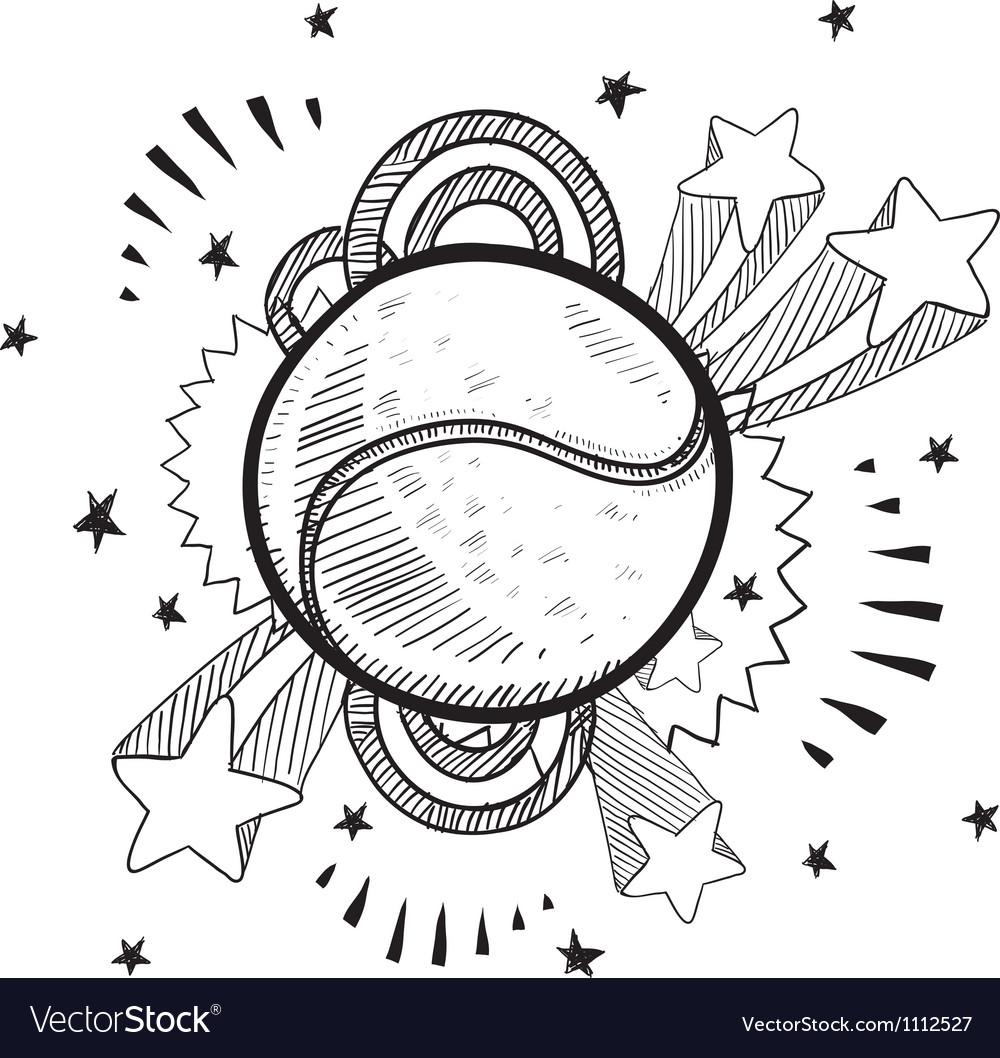 Doodle pop tennis