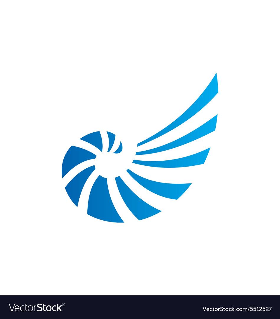 shell abstract line logo royalty free vector image rh vectorstock com shell logo vector cdr shell logo vector ai