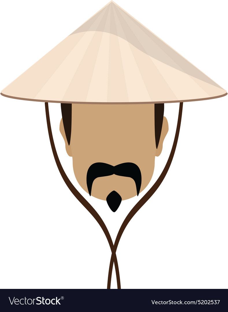 Chinese man vector image