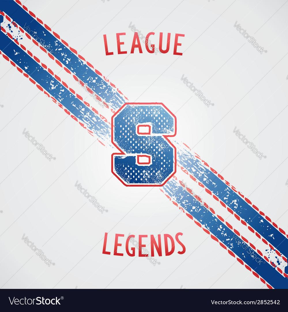 Sporting vintage design