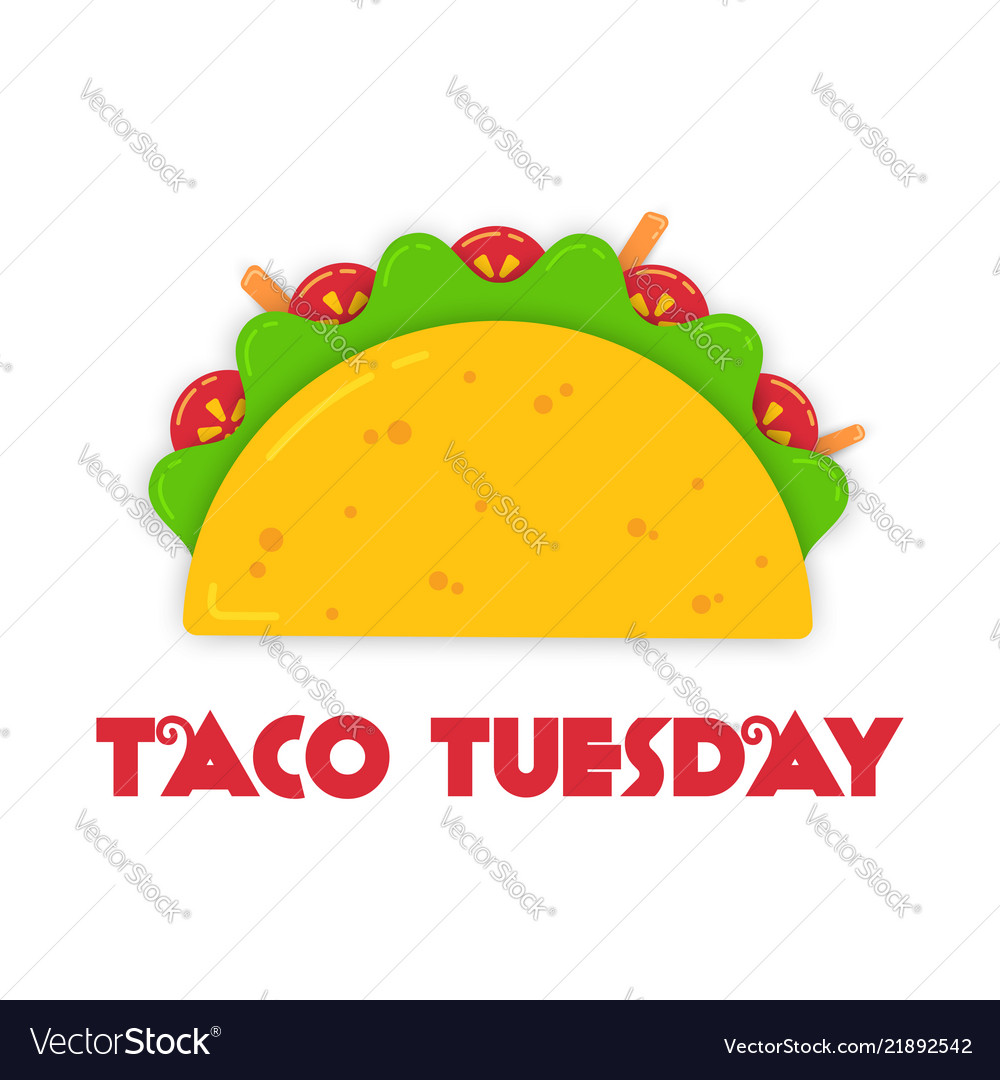 Traditional tacos meal tuesday event