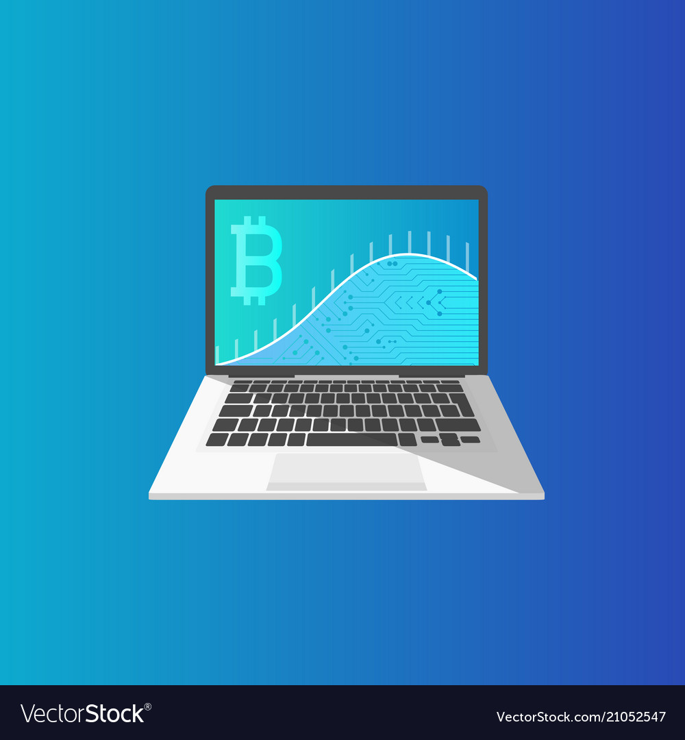 Laptop and web page with