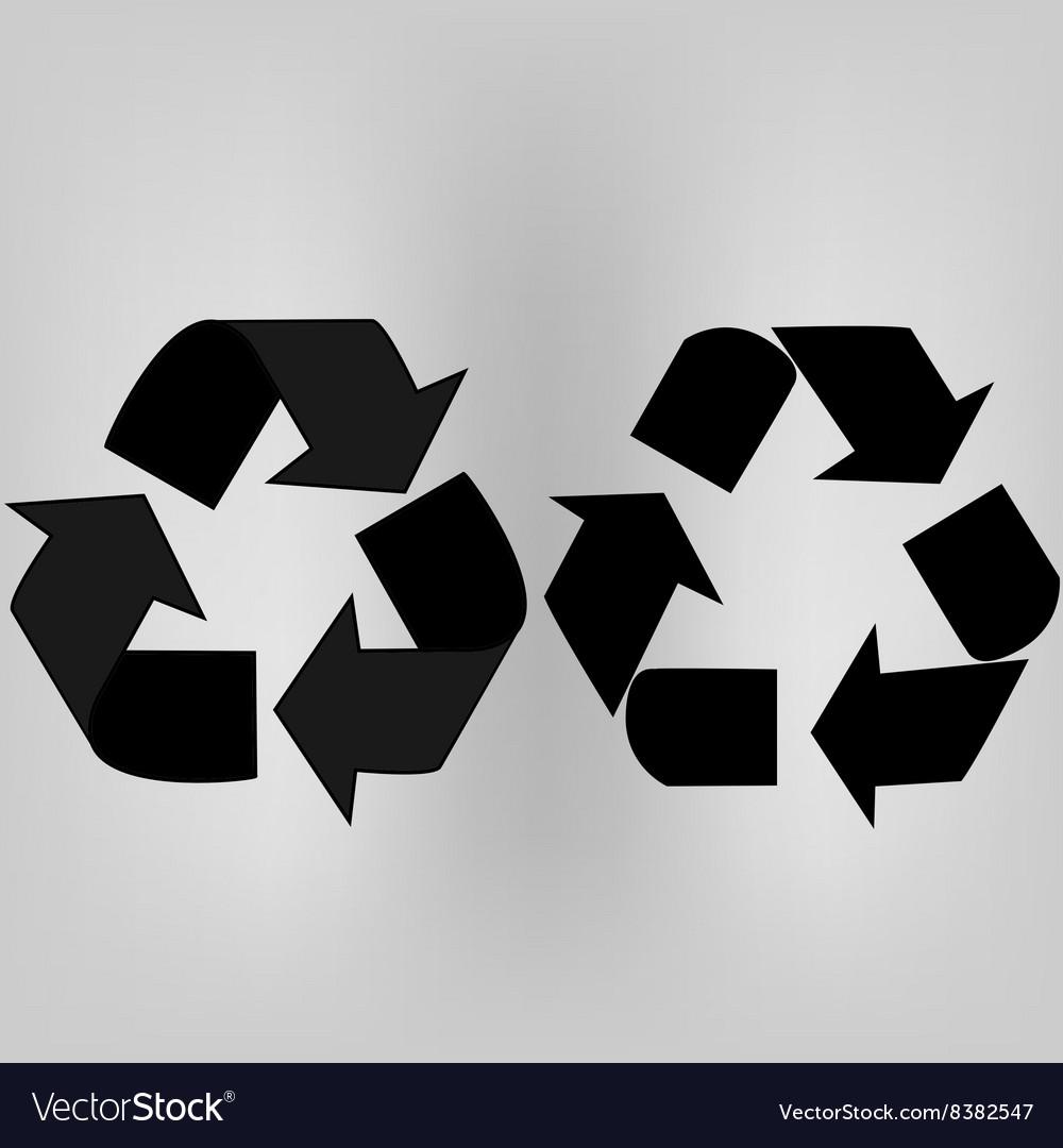 Recycle arrows set