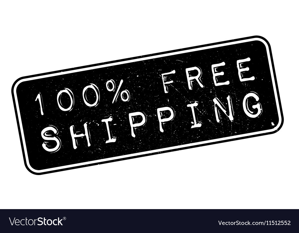 100 percent free shipping rubber stamp