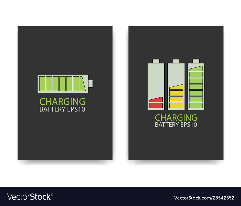 fully charged battery royalty free vector image fully charged battery royalty free vector image