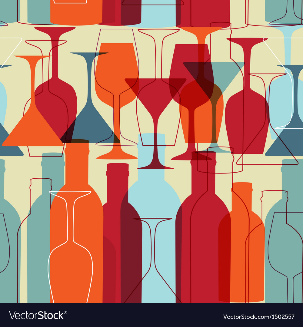 Restaurant or wine bar menu design Seamless
