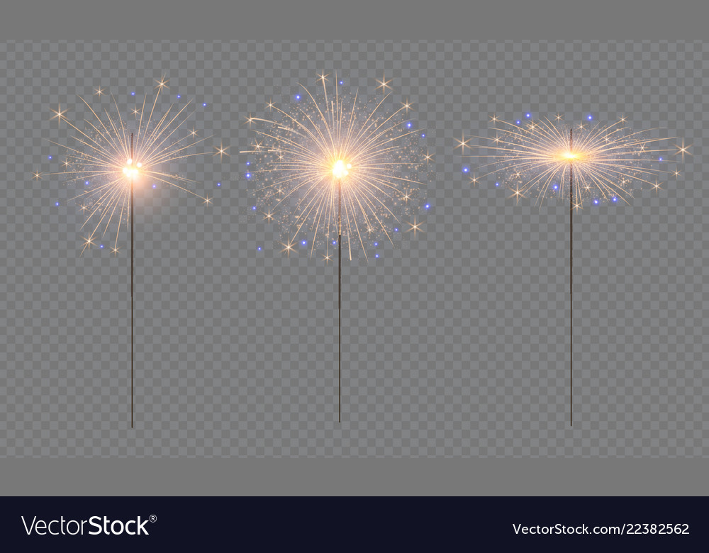 Sparcler and firework christmas decoration lights
