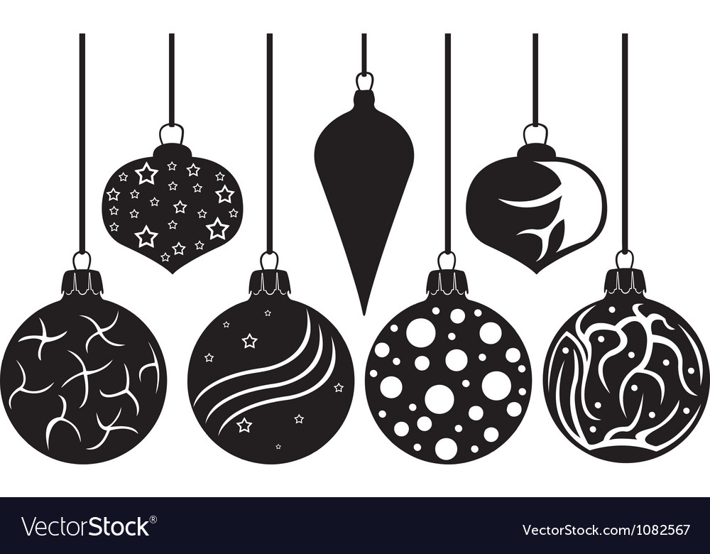 Christmas decorations Royalty Free Vector Image