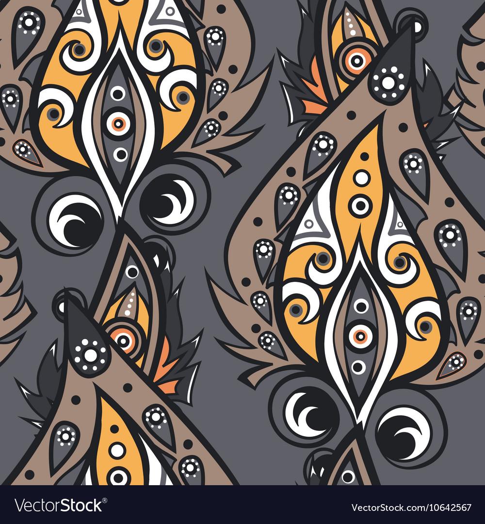 Ethnic ornamental pattern