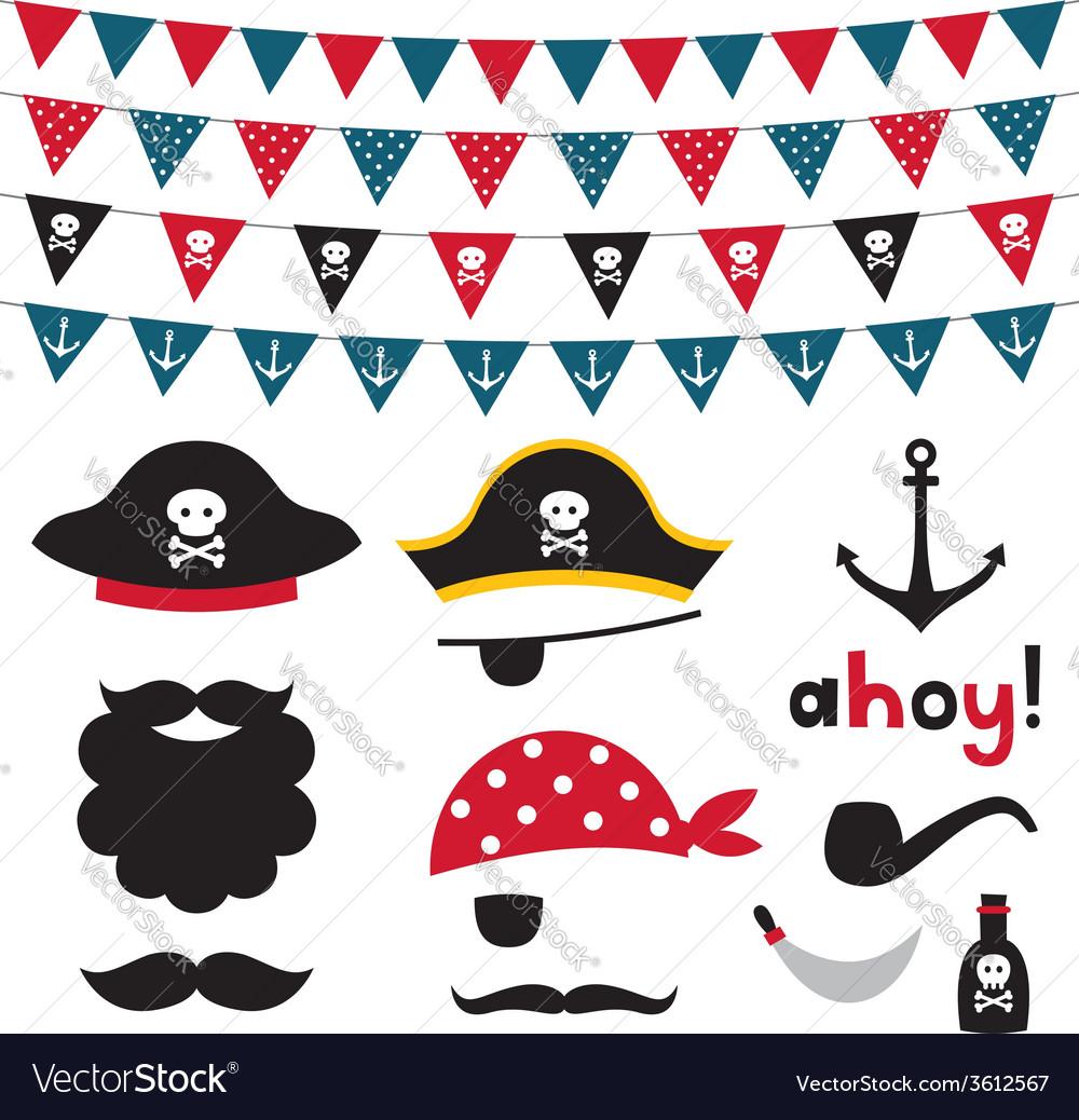 Pirate design element