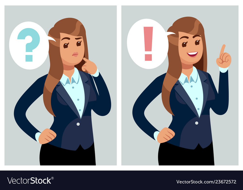 Confused woman young thinking girl student with