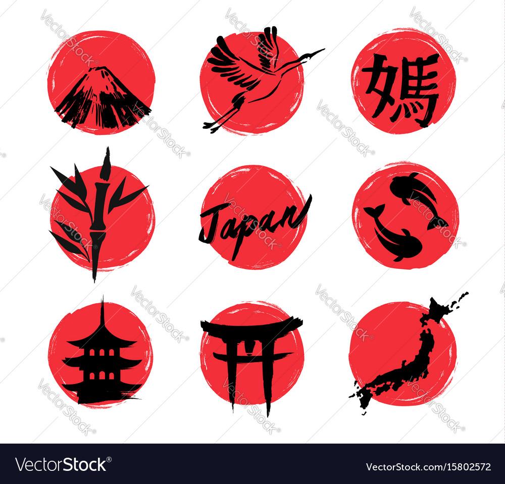 Sketch japan icons