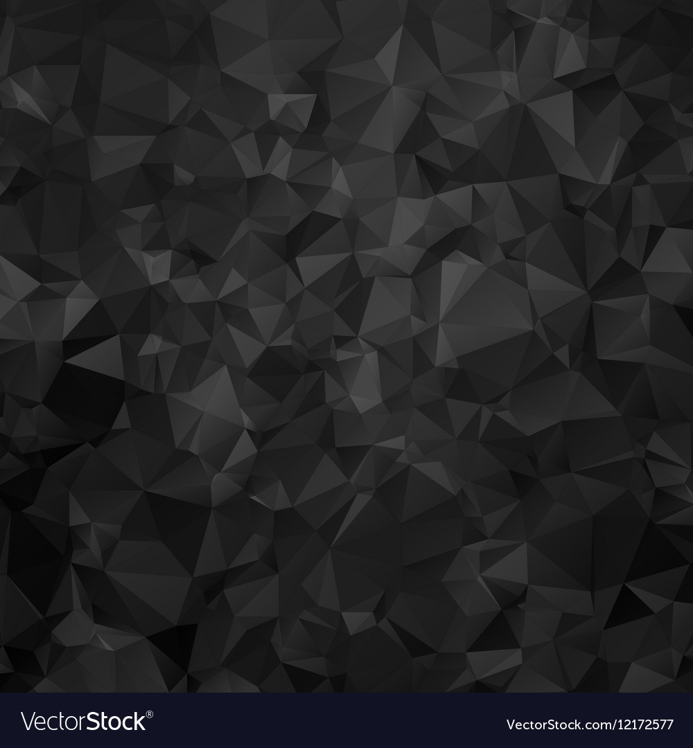 Black and white triangular abstract background