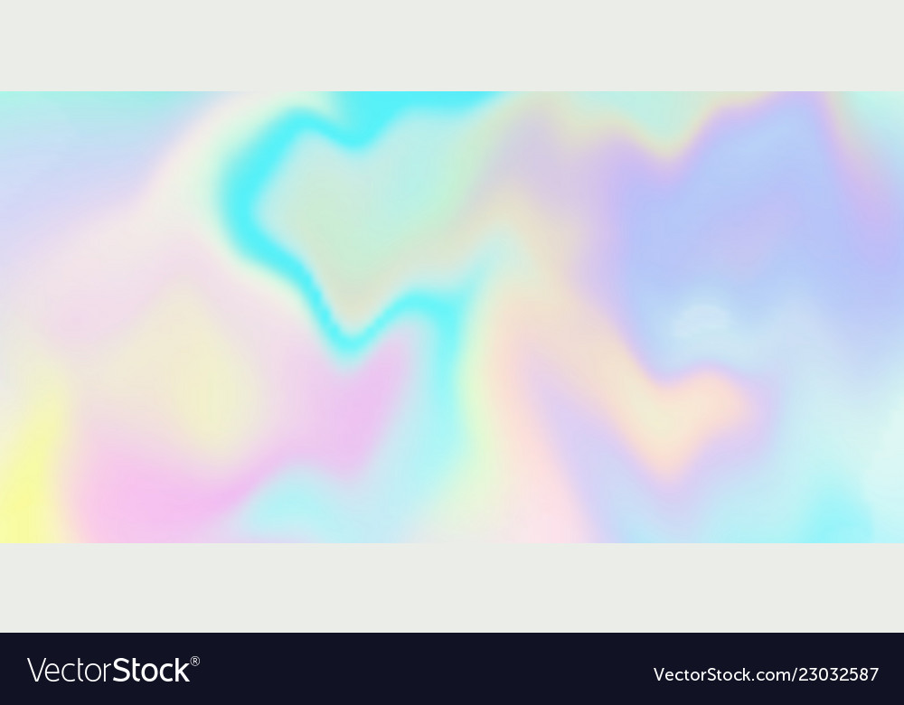 Holographic iridescent background rainbow
