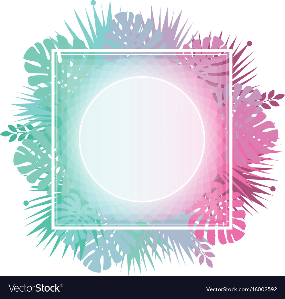 Abstract template with gradient backgrounds and vector image