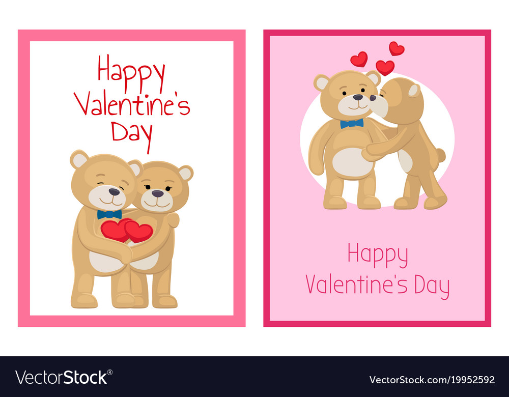 I love you and me teddy bears royalty free vector image i love you and me teddy bears vector image voltagebd Gallery