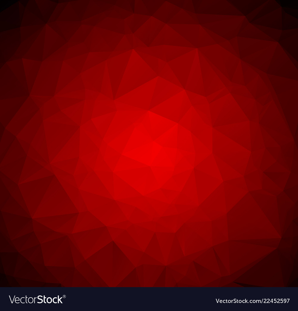 Abstract dark red polygonal which consist of