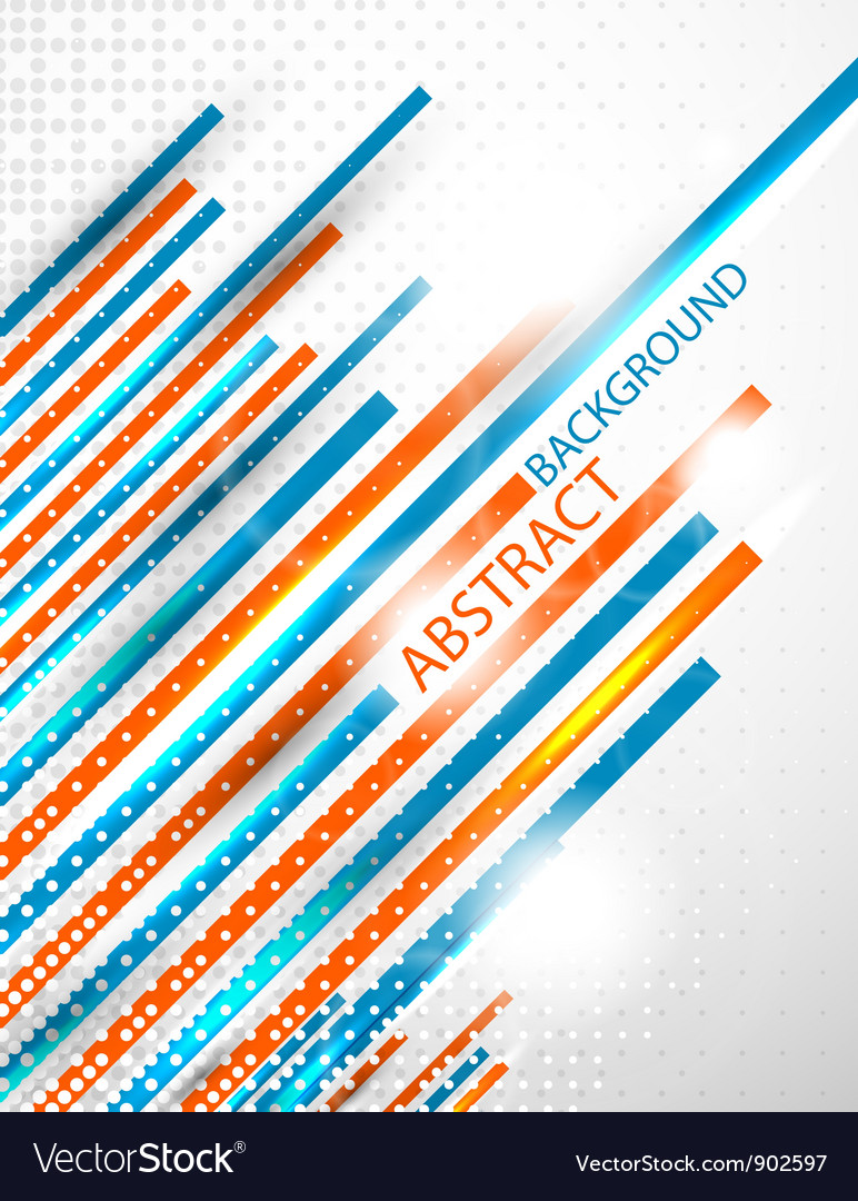 Abstract straight lines background vector image