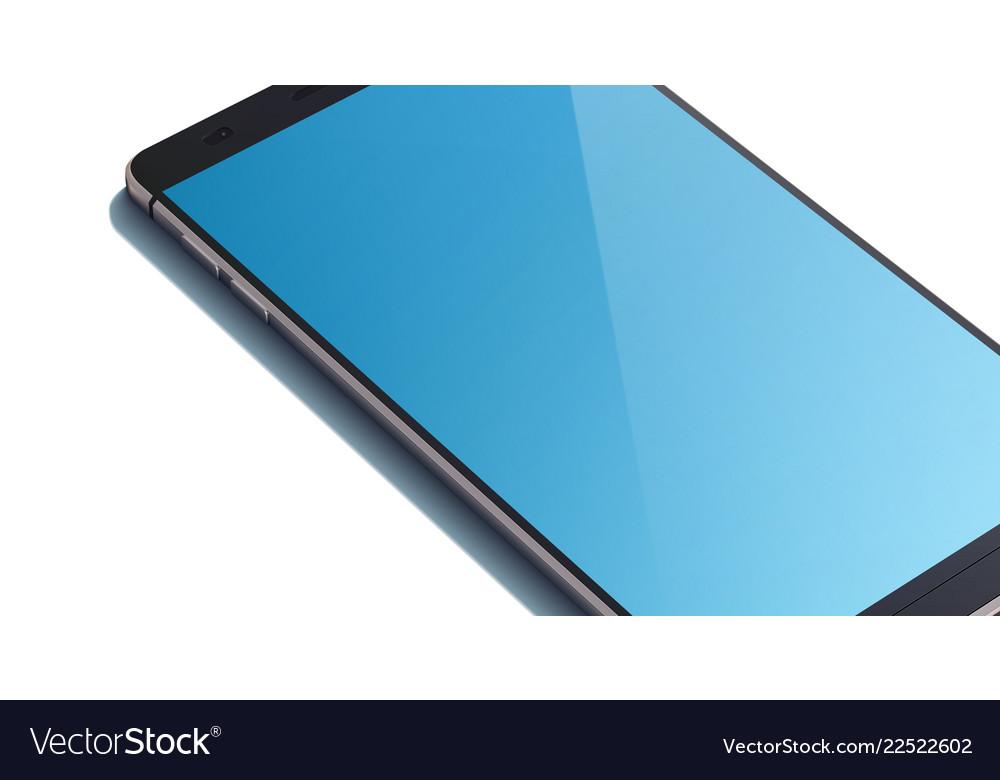 Modern touch screen smartphone concept