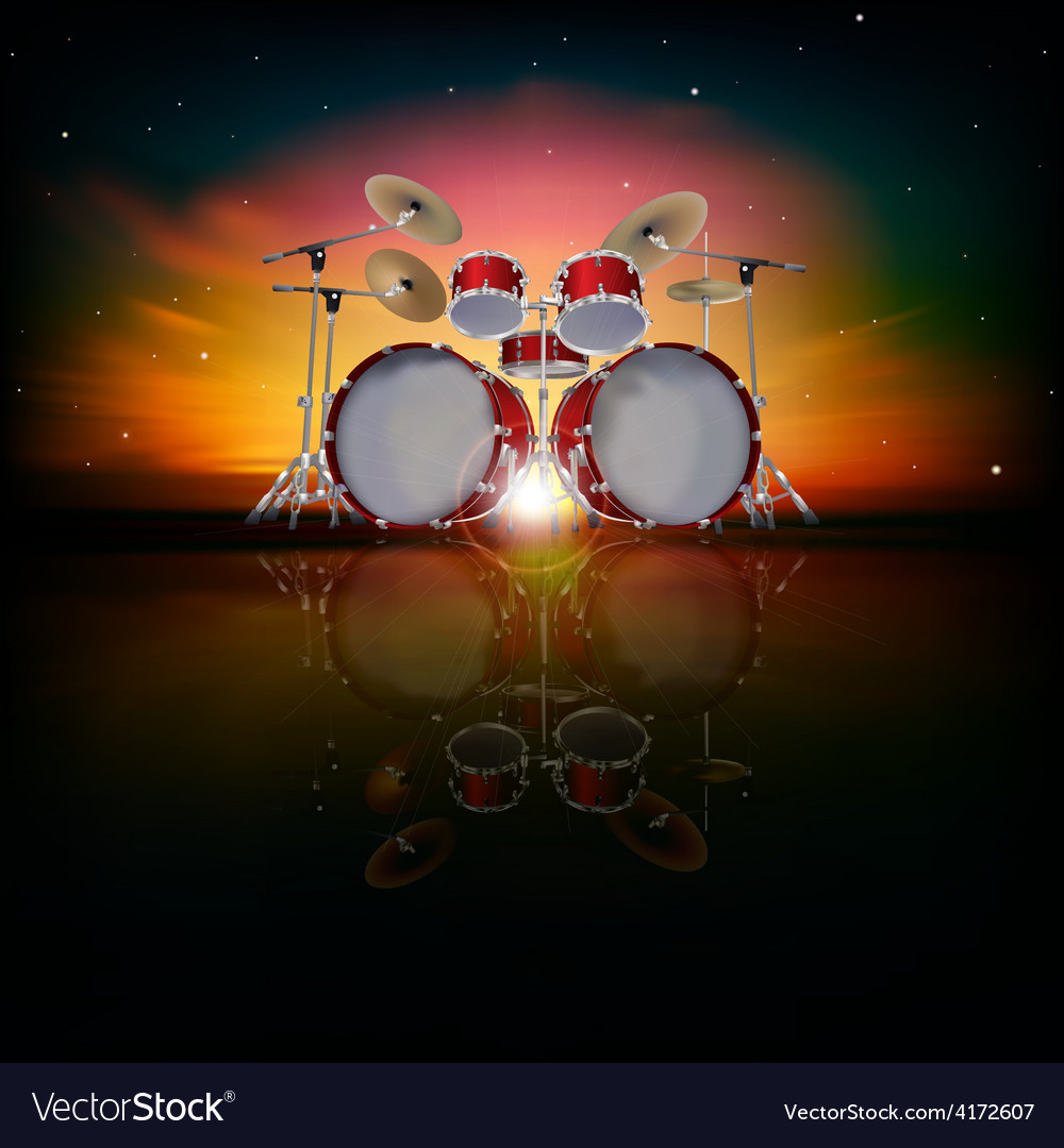 Cool Drum Set Backgrounds