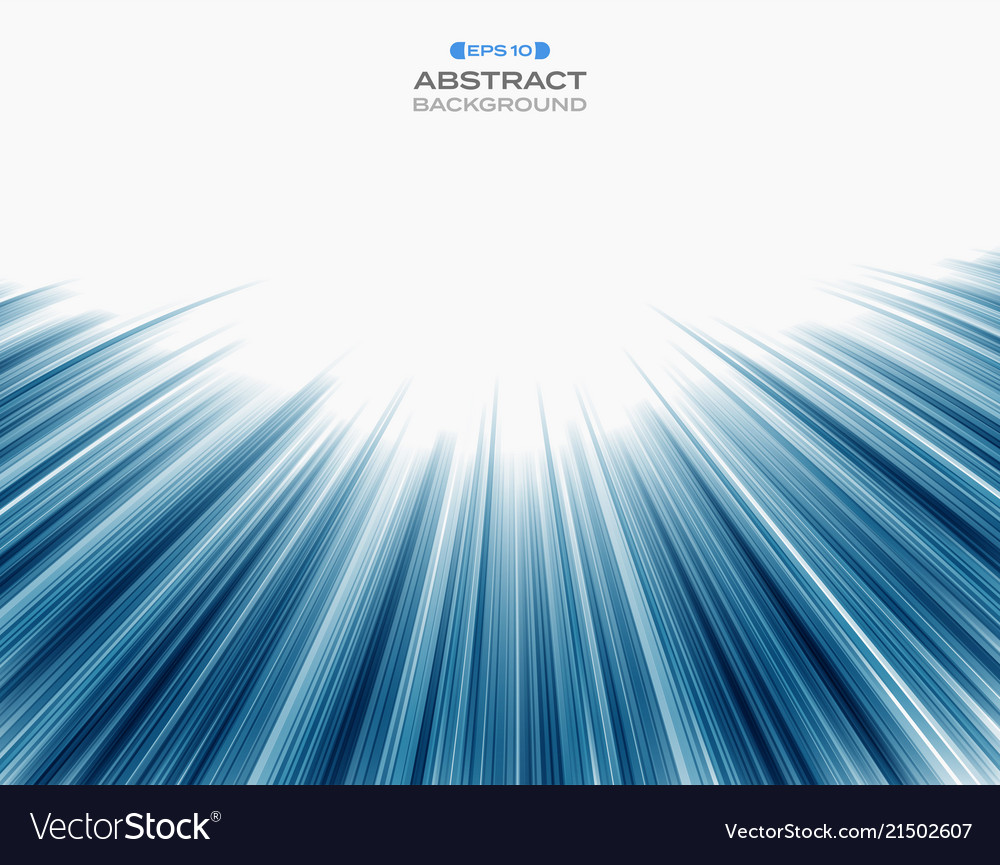Abstract of technology blue speed stripe line