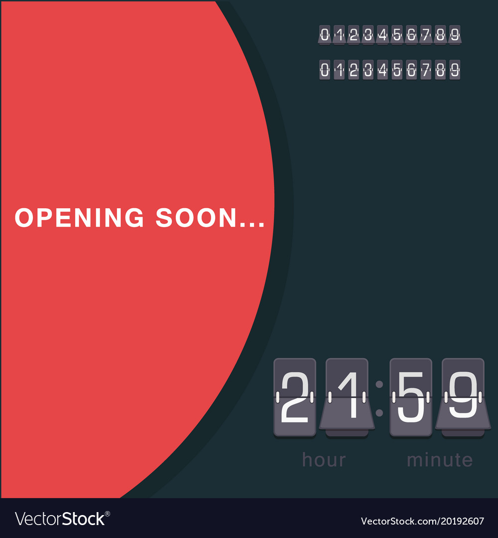 Timer clocks watch stopwatch countdown vector image