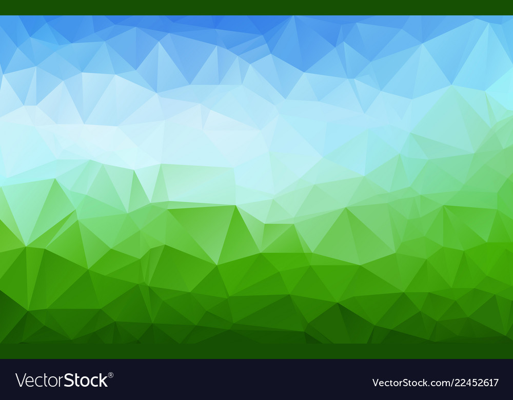 Abstract multi colored abstract polygonal