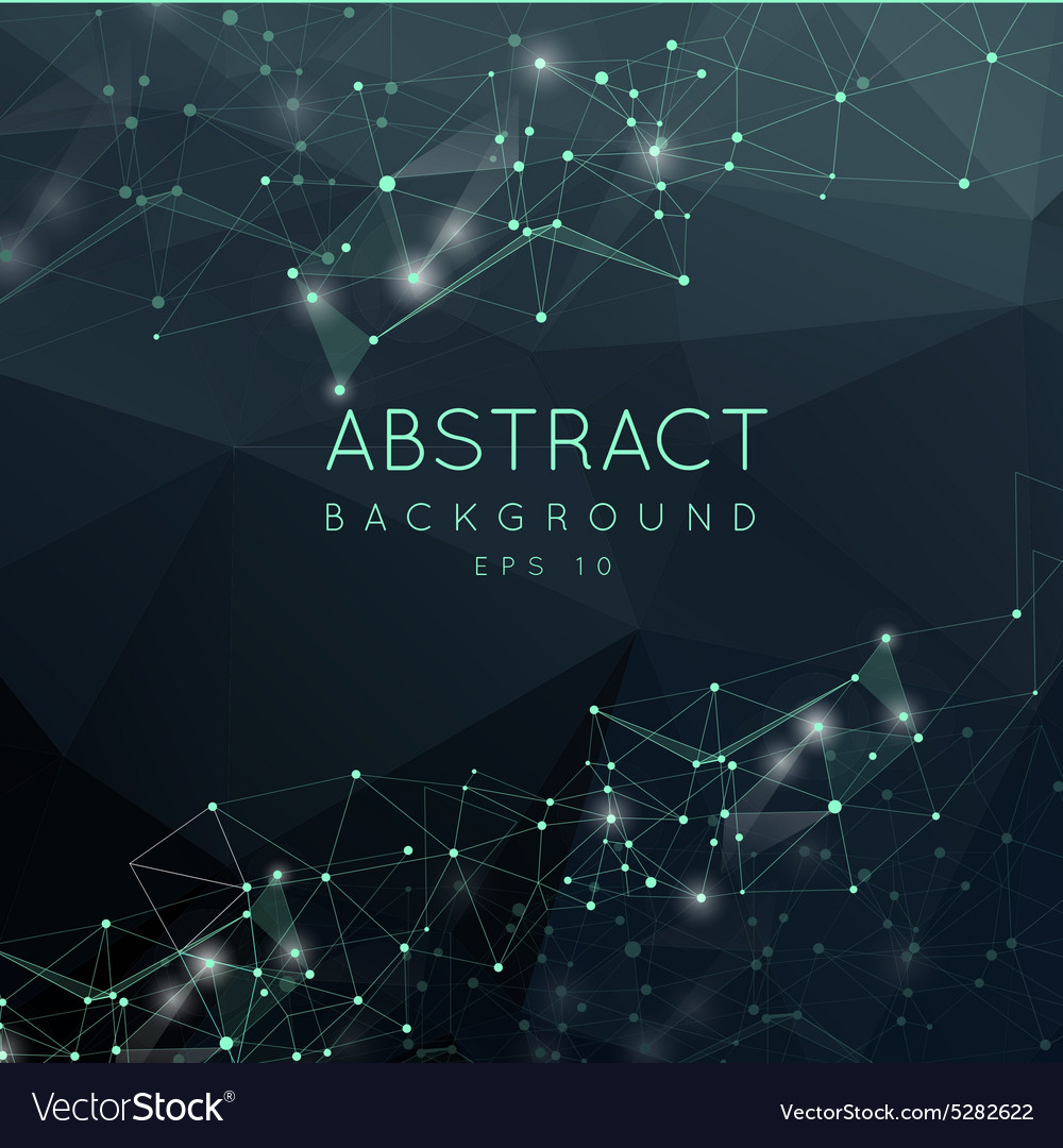 Abstract polygonal backgroun Low poly design