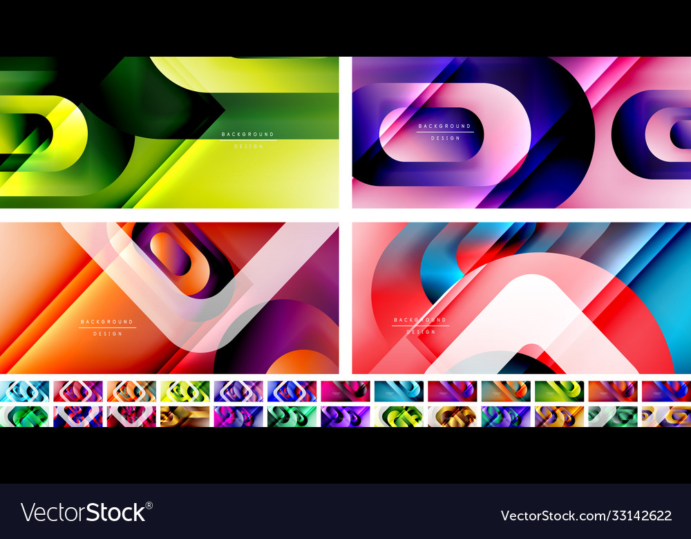 Geometric abstract backgrounds with lines