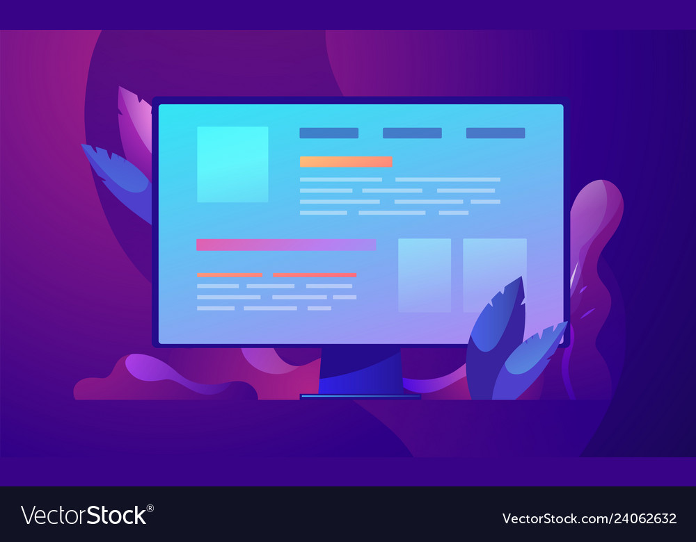 Business concept web vector