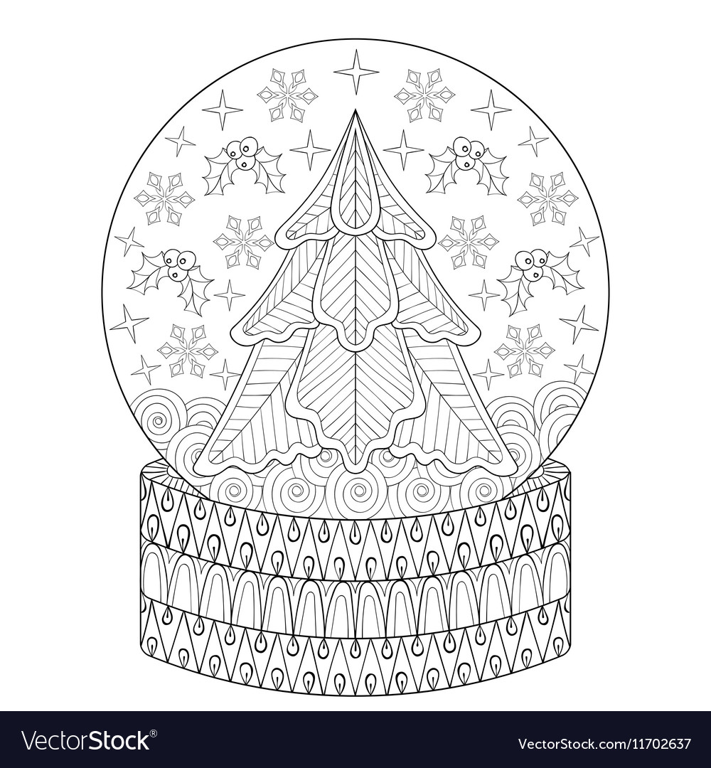 Zentangle Vector Reindeer For Adult Anti Stress Coloring Pages ... | 1080x1000