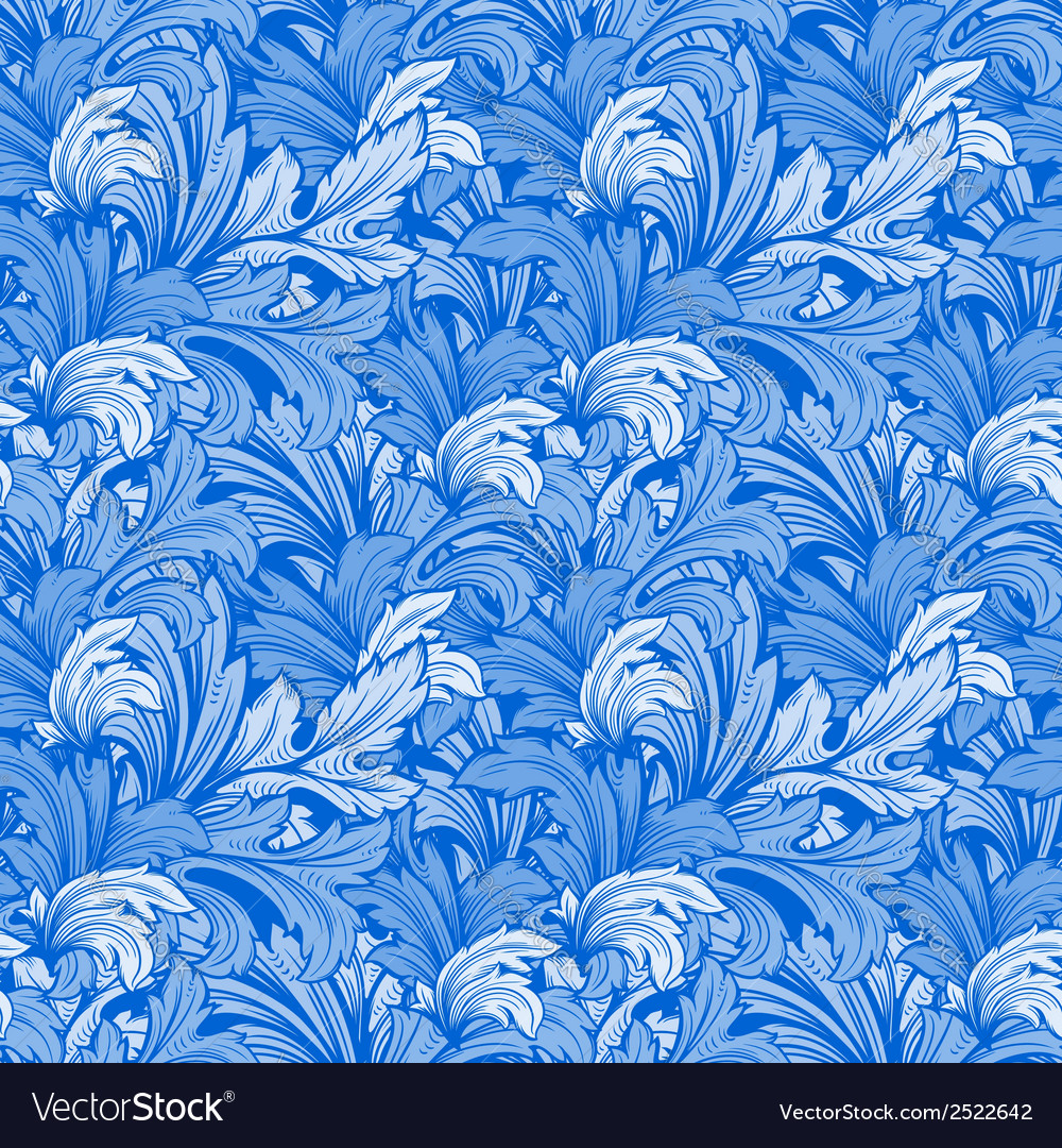 Bright colorful seamless pattern with leaves