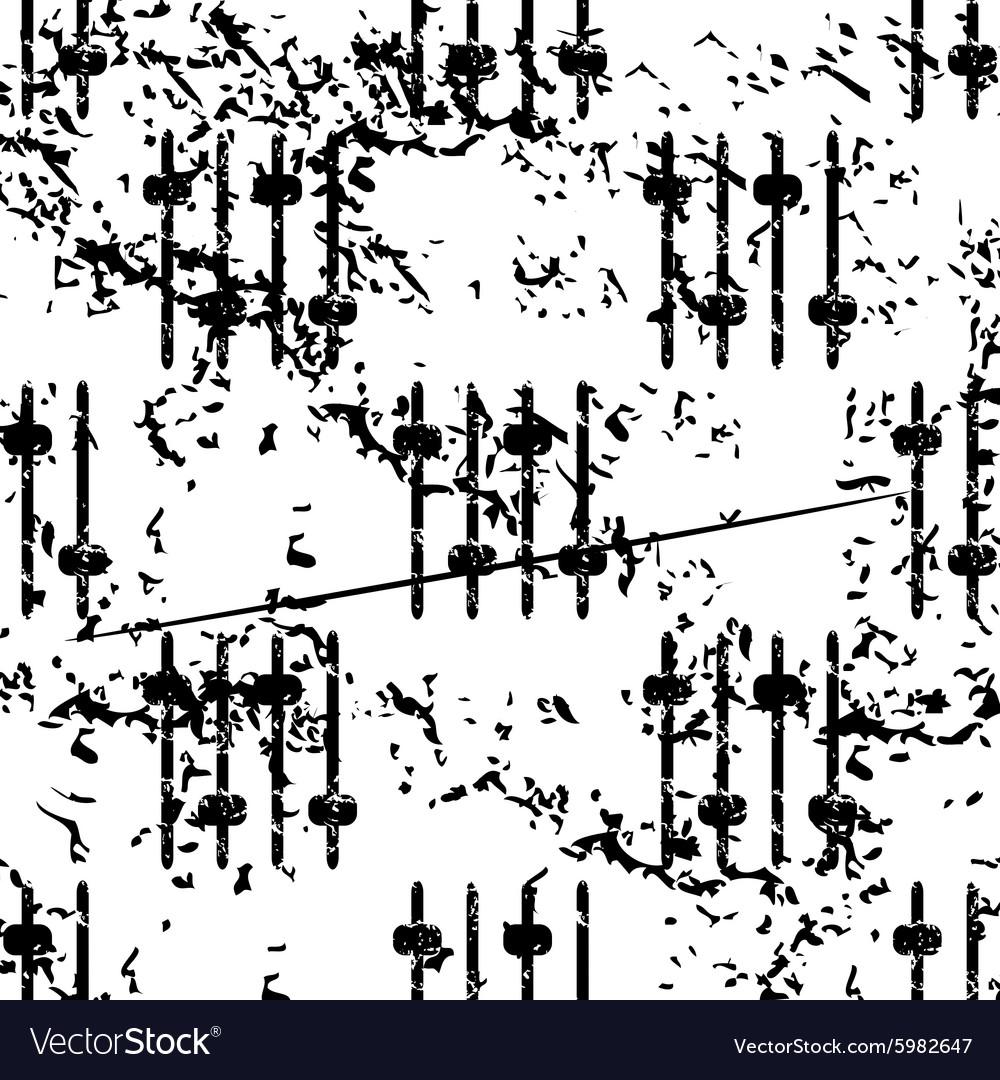 Faders pattern grunge monochrome