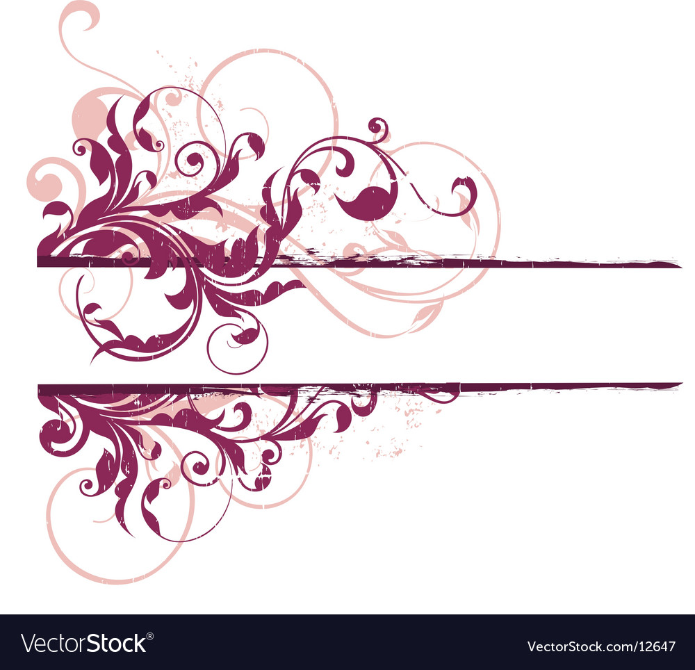 Urban banner element vector image