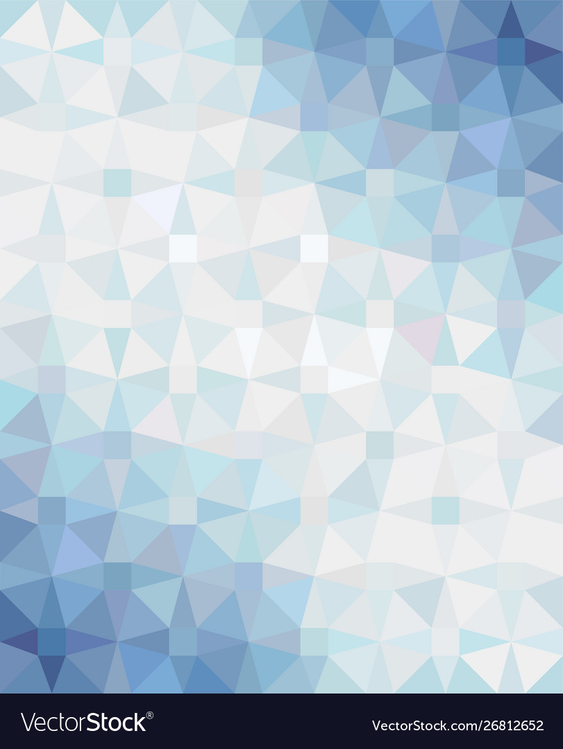 Abstract blue geometric triangle background