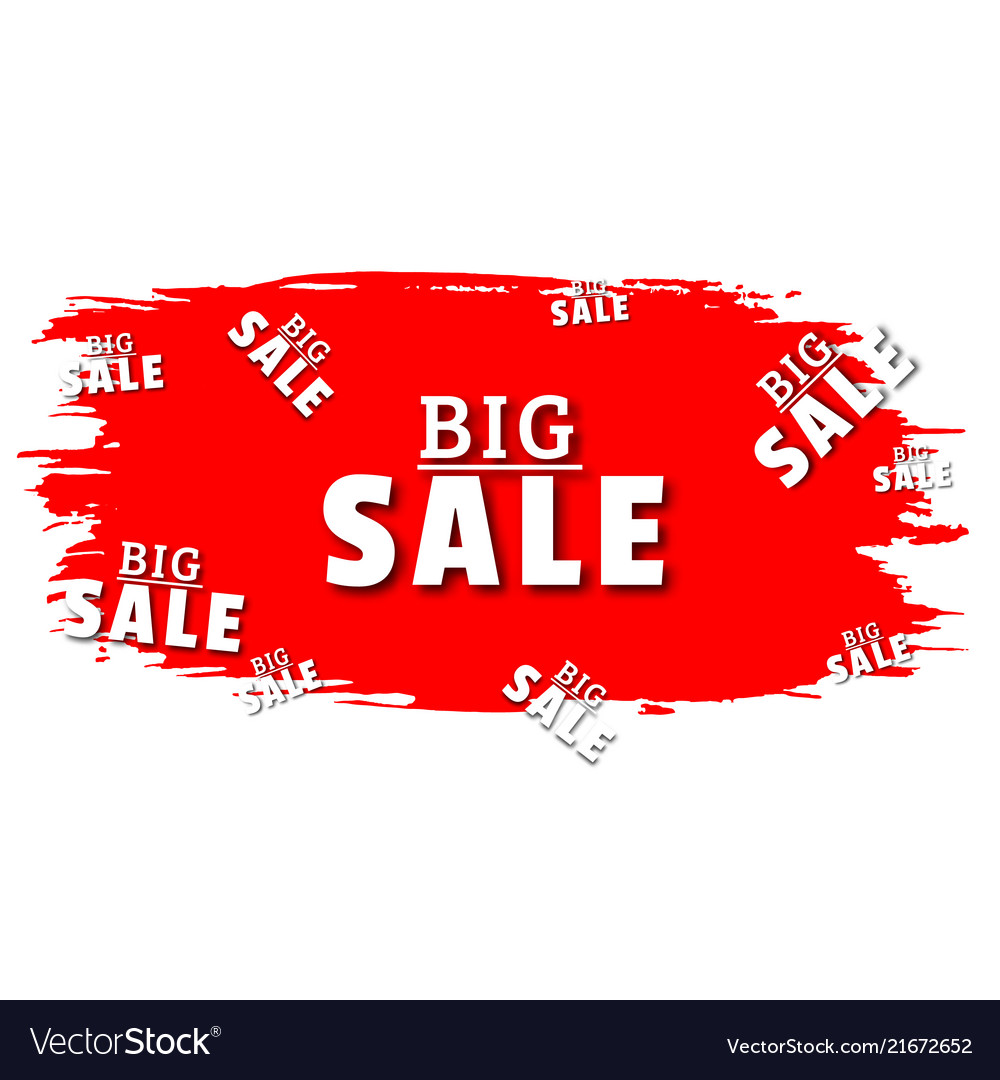 Big salespecial offer sale red tag